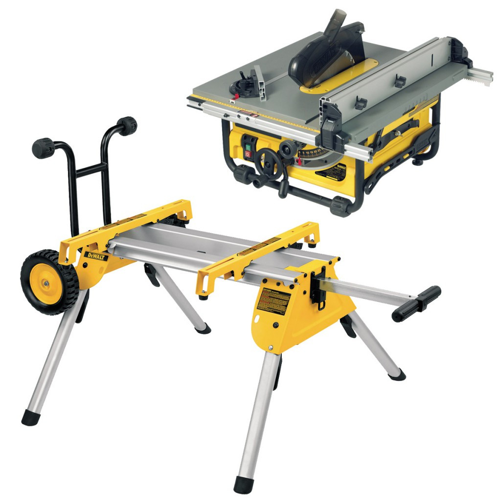 Dewalt Dw745 10 Compact Job Site Table Saw