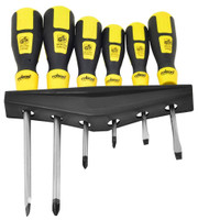 Rolson 28572 6pc Screwdriver Set