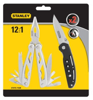 Stanley 2 Pack Multi-Tool and Pocket Knife Combo