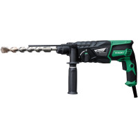 HiKoki DH26PX 830W SDS-Plus Rotary Hammer Drill and Chuck Adaptor (DH26PX)
