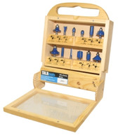 Tala 12 Piece Router Bit Set