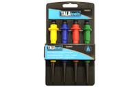 Tala 4 Piece Nail & Centre Punch Set (TAL69907)
