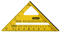 Stanley 180mm(7in) Dual Colour Square