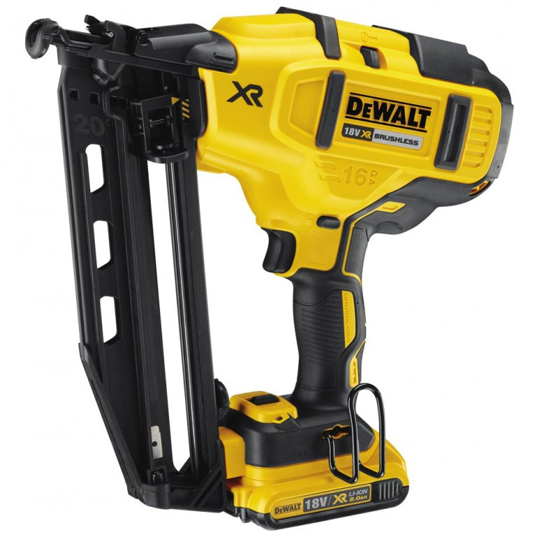 Dewalt Dcn660d2 Gb Cordless Finish Nailer 18 Volt 16 Gauge 2 0ah Mcquillan Tools