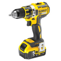 Dewalt DCD790P2 18V Cordless XR 2 Speed Brushless Drill Driver (2 x 5Ah Batteries)