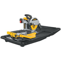 Dewalt D24000 250mm Slide Table Wet Tile Saw & Leg Stand