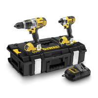 Dewalt DCK290M2 Combi Drill and Impact Driver 18V XR li-ion Kit (2 x 4Ah)