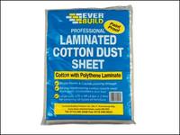 Everbuild Laminated Cotton Dust Sheet 3.6 x 2.7m