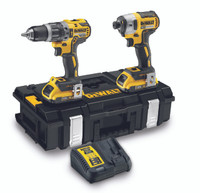 Dewalt DCK266D2 18V Brushless Combi Drill and Impact Driver Kit (2x2.0Ah)