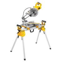 Dewalt DWS778 250mm Compact Slide Mitre Saw c/w DE7033 Stand