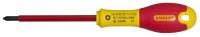 Stanley FatMax PZ0x75mm VDE Pozi Screwdriver