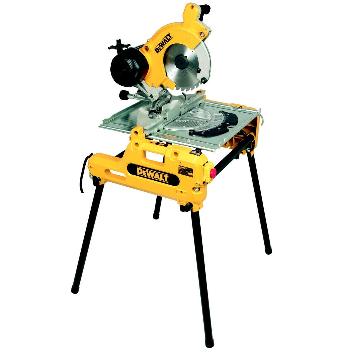 Table Saws Dewalt DW743N 250mm Combination Flip Over Saw Image 1