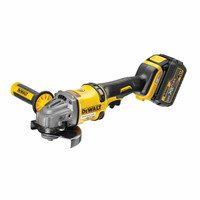 Dewalt DCG414T2 Grinder XR Flexvolt 54V Cordless 125mm (2 x 6.0Ah Batteries)