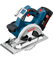 Bosch GKS 36 V-LI Professional Cordless Circular Saw 2 x 2.6Ah Batteries