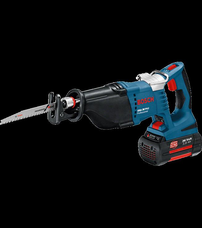 Ah 2 Sabre: Bosch GSA 36 V-LI Professional Cordless Sabre Saw 2 X 2