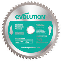 Evolution 230mm TCT Aluminium Cutting Saw Blade (EVO230ALU)