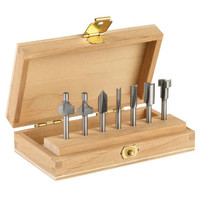 Dremel 7 Piece Router Bit Set
