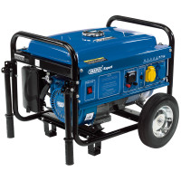 Draper Petrol Generator (2.5KVA/2.5KW) with Wheels