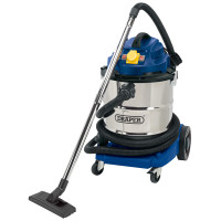 Draper 75443 50Litre 1500W Wet and Dry Vacuum