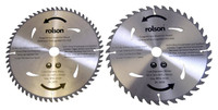 Rolson TCT Bore Blade with 40/60 Teeth, 300 x 30 mm - 2 Pieces
