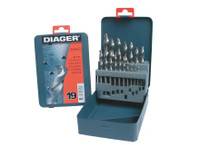 Diager 745D 19 Piece HSS Drill Bit Set