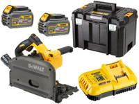 Dewalt DCS520T2 54V XR Cordless Plunge Saw (2 x 6Ah)