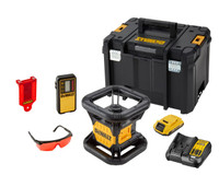 Dewalt DCE074D1R 18V XR Self Leveling Red Rotary Laser Kit