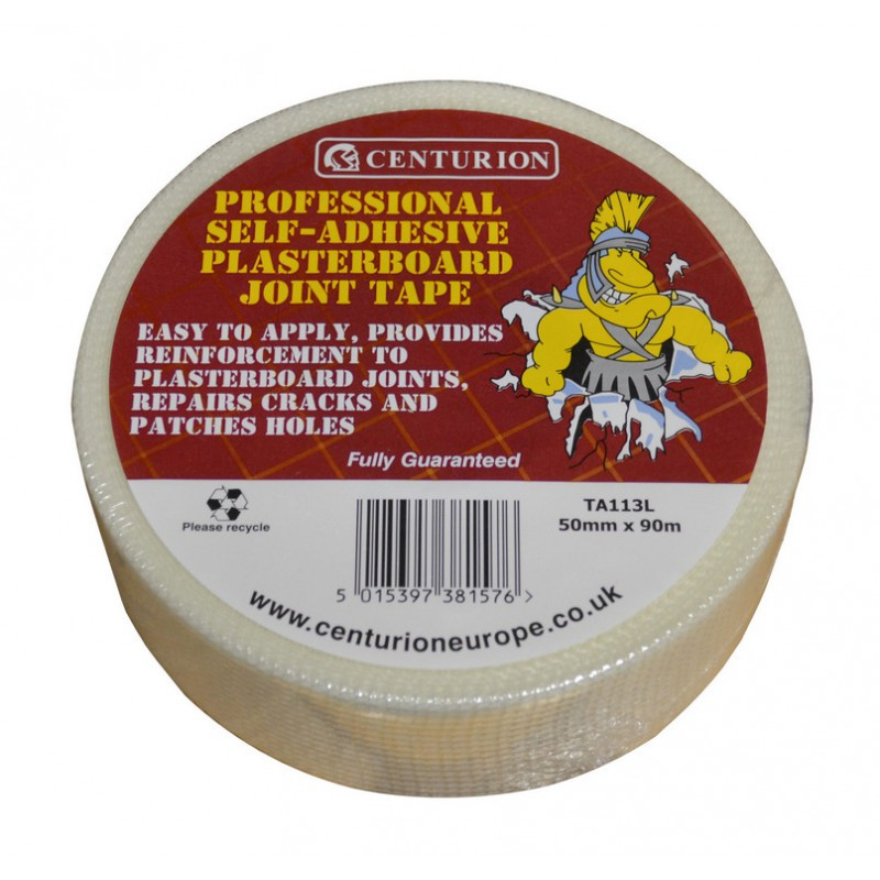Centurion 50mm x 90m Self Adhesive Plasterboard Joint Tape