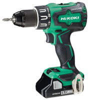 Hitachi DV18DGL 18V Cordless Combi Drill With 1 x 5Ah Battery Charger /& Case