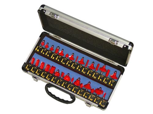 Faithful 30 Piece Tungsten Carbide Router Bit Set (FAIRBS30)