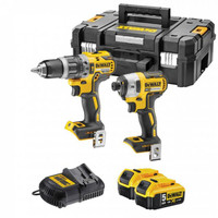 Dewalt DCK266P2T 18V Brushless Combi Drill & Impact Driver Kit (2x5.0Ah)