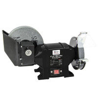"SIP 8.0"" x 6.0"" Wet/Dry Bench Grinder"