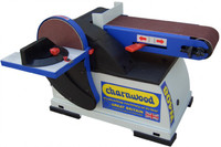 "Charnwood W408P 6"" x 4"" Disc and Belt Sander Package Deal (W408P)"