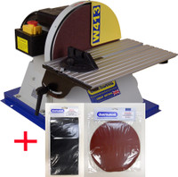 "Charnwood W413P 12"" Disc Sander Package Deal"