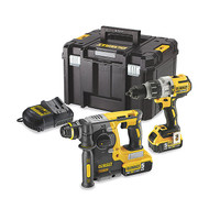 Dewalt DCK229P2T Combi Drill and Hammer Drill Cordless Kit (2 x 5.0Ah) (DCK229P2T)