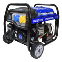 Hyundai HY3800LEK-2 3.2kW/4.00kVa Recoil Start Site Petrol Generator