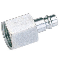 "Draper 1/4"" Bsp Female Nut Euro Coupling Adaptor"