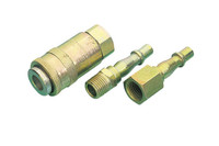 "Draper 3 Piece 1/4"" BSP Air Line Coupling Set"