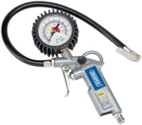 Draper 10604 Air Tyre Inflator with Dial Gauge