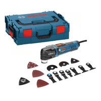 Bosch GOP 40-30 Starlock Multi Cutter With 15 Accessories in L-Boxx 400W