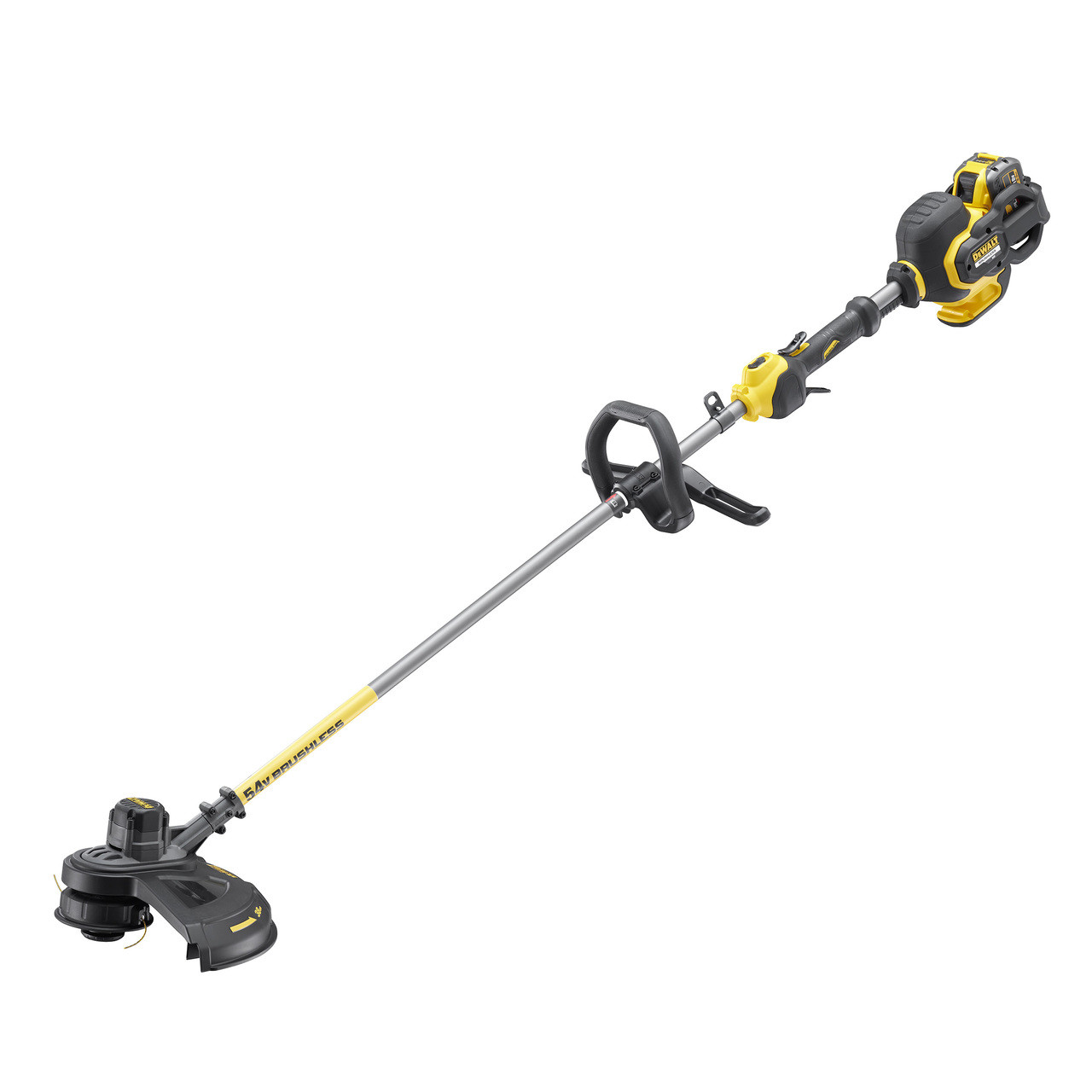 Dewalt DCM5713X1 54V Flexvolt Brushless Strimmer with Split Shaft (1 x 9Ah)