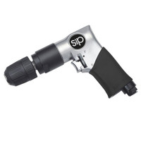 "SIP 3/8"" Reversible Air Drill Keyless Chuck"