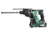 HiKoki DH36DPA Multi Volt (36V) Cordless Rotary Hammer 2 x 2.5Ah (DH36DPA)