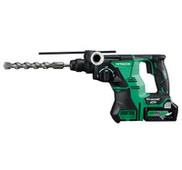 HiKoki DH36DPA Multi Volt (36V) Cordless Rotary Hammer 3 x 2.5Ah