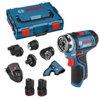 Bosch GSR 12 V-15 FC 12V Drill Driver Set