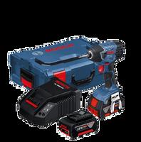 Bosch GDR 18 V-LI DYNAMICseries 18V Impact Driver 2 x 5Ah Batteries