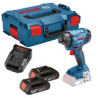 Bosch GDR 18 V-160 DYNAMICseries 18V Impact Driver 2 x 2Ah Batteries