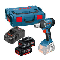 Bosch GDS 18 V-LI 18V Impact Wrench 2 x 5Ah Batteries