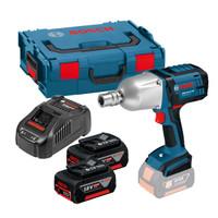 Bosch GDS 18 V-LI HT 18V Impact Wrench 2 x 5Ah Batteries