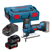 Bosch GST 18 V-LI S 18V Jigsaw 2 x 5Ah Batteries